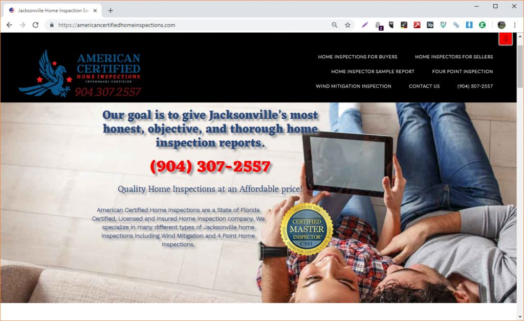 americancertifiedhomeinspections.com